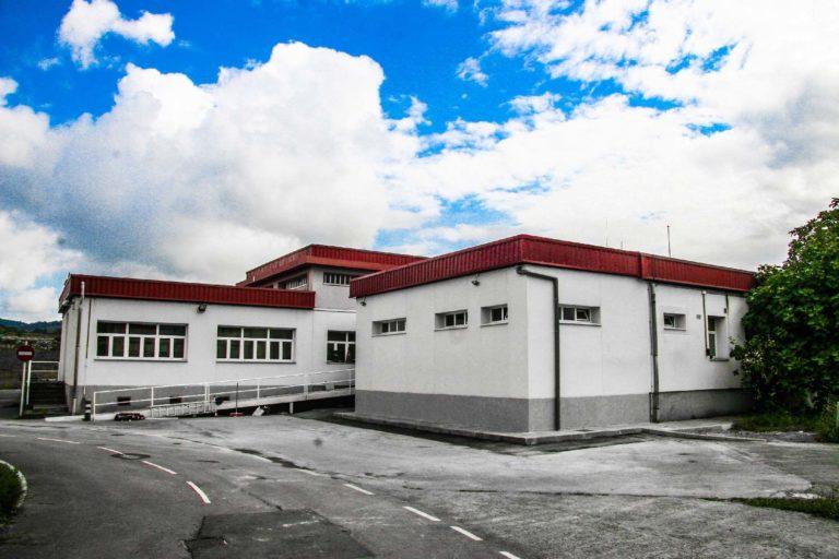Edificación de central eléctrica de AENA en Aeropuerto de Bilbao