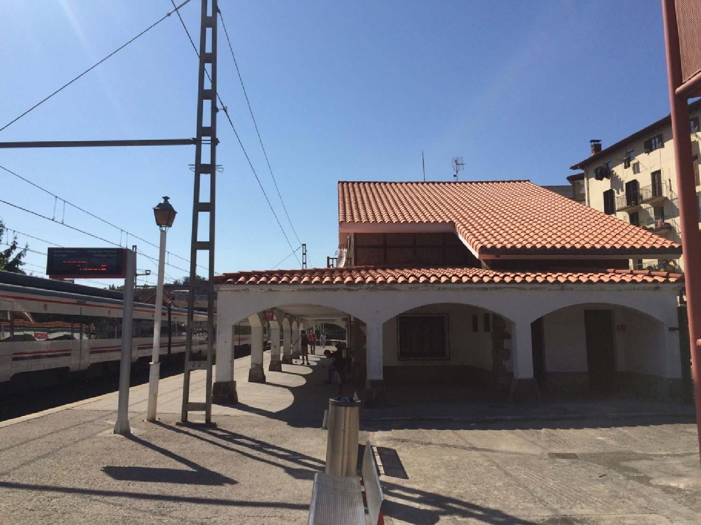 Rehabilitación de la cubierta de la estación de tren de Ordizia