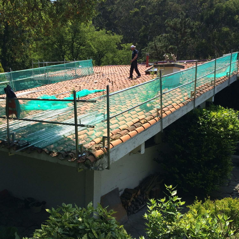 Renovación de cubiertas en Umbemendi