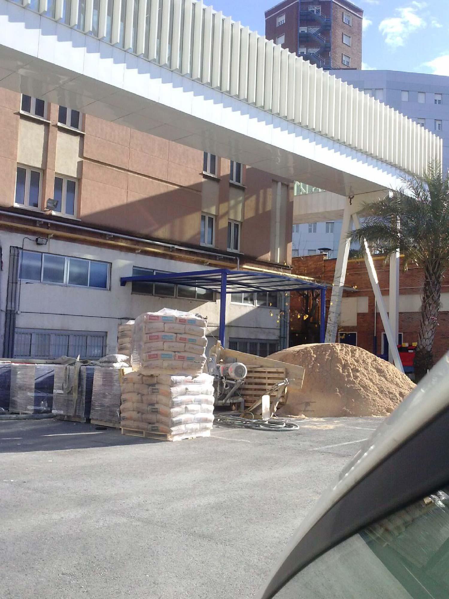 Urbanización en el Hospital de Cruces