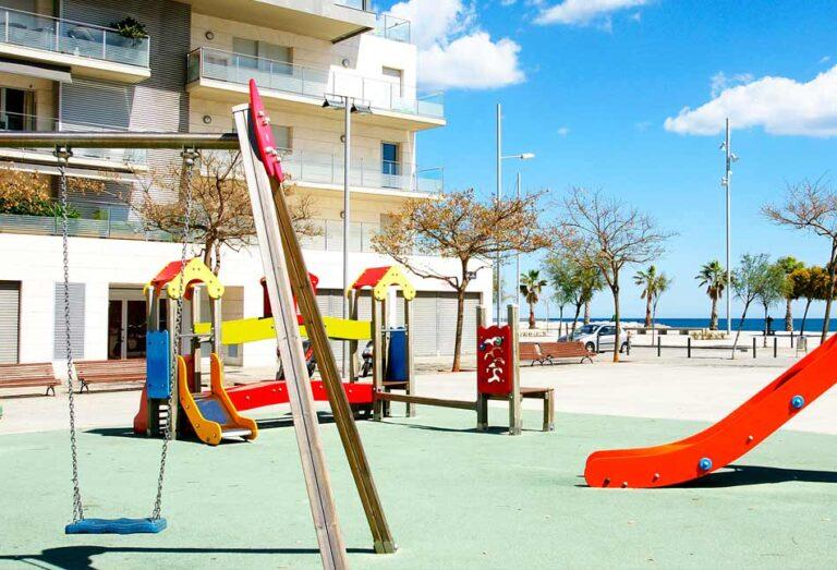 Los mejores suelos para zonas de juegos infantiles