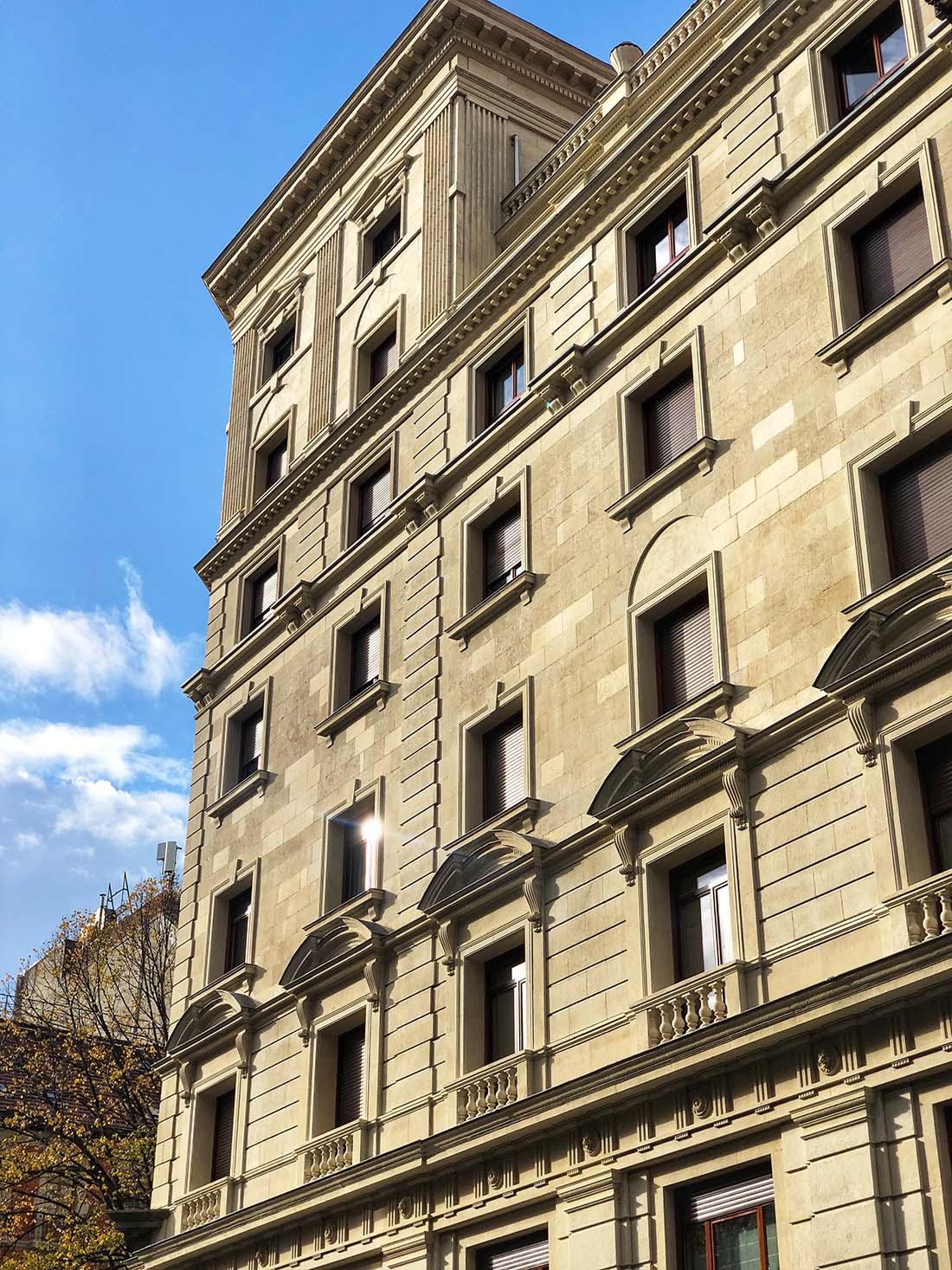 Rehabilitacion de fachada en Gran via 36 de Bilbao 3