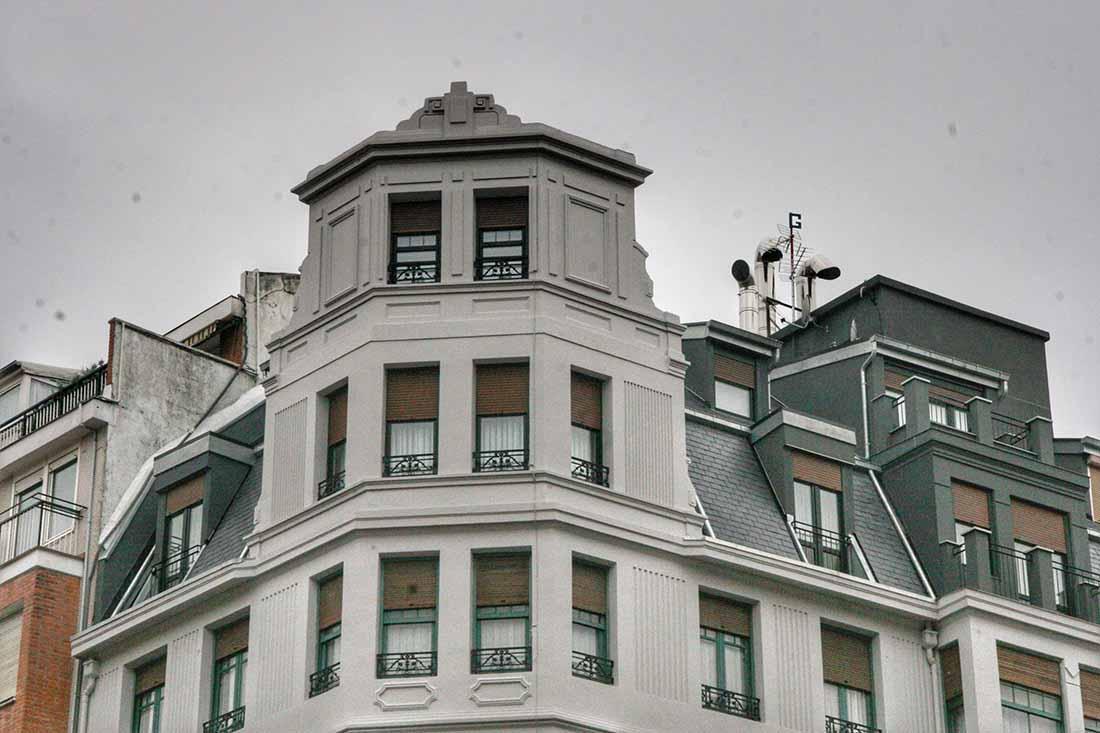 Rehabilitacion fachada edificio en la calle Egana de Bilbao 3