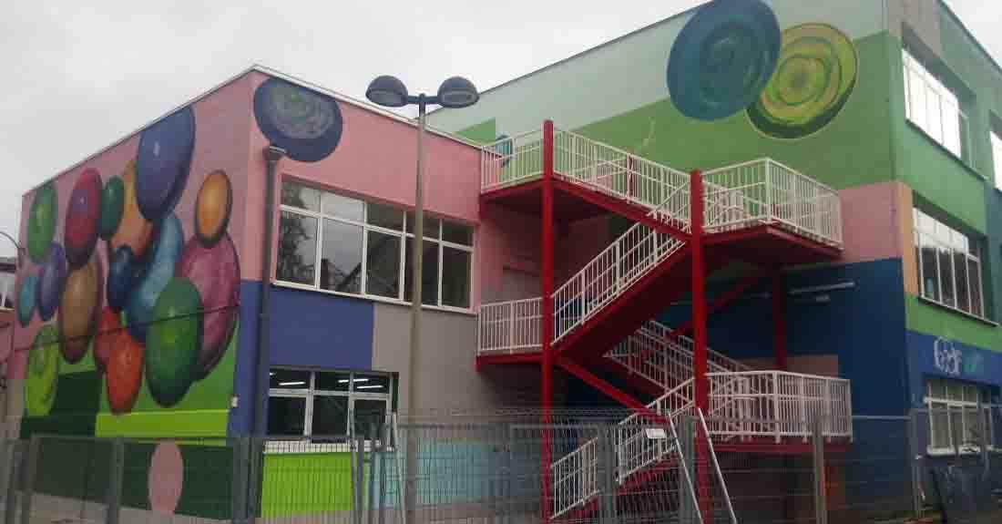 Rehabilitación de fachadas y terrazas del CEIP Lekeitio