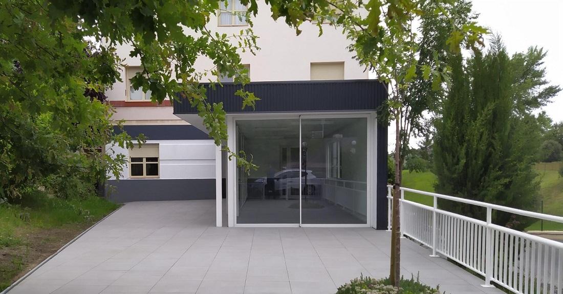 Nueva terraza y marquesina para porche en el centro IFAS de Gallarta 3