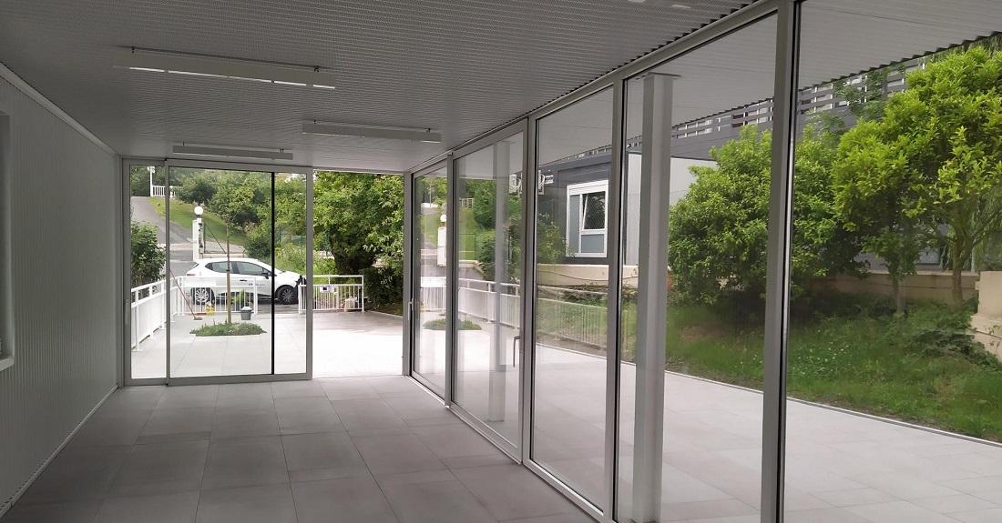 Nueva terraza y marquesina para porche en el centro IFAS de Gallarta 4
